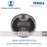 Kolben des Mahle Agens-6D102 3957790 für KOMATSU PC200-7
