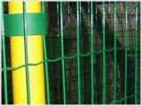 2016貿易保証PVC上塗を施してある緑のEurofence
