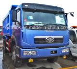 Caminhão da pedra do carregamento do caminhão de descarga do Tipper de FAW