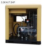 Простота в эксплуатации и технического обслуживания винтовой компрессор для продажи/5.5kw7.5HP/мини-воздушного компрессора воздушного компрессора Btd-5.5am