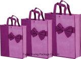 Laminazione del sacchetto di acquisto non tessuto del Tote con stampa personalizzata