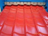 Hoja/Hojas acanalados perfilados populares De Techo/material para techos acanalado colorido del metal