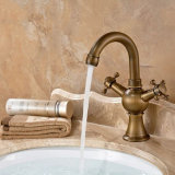 Casa de banho da Alavanca Única Bacia Flg Torneira com latão maciço