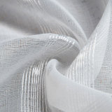 Un estilo moderno de Jacquard de lino puro de tela de cortina de Voile (18F0111)