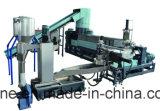 Máquina de la granulación del estirador y máquina de reciclaje plástica para la película/los bolsos tejidos