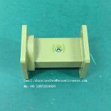Prato de microondas parabólico componente guia rígido do sistema