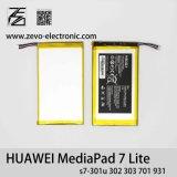3,7 V 4000mAh 100 % Nouvelle batterie de téléphone d'origine hb3g1 pour le pavé Mediapad de Huawei 7 Lite S7-301U 302 303 701 931
