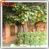 Árbol de Jackfruit artificial distintivo de la fibra de vidrio