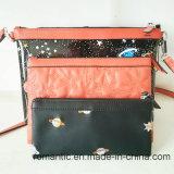 Handtassen van de Gelei van EVA van de Vrouwen van het Ontwerp van de manier Trendy met Twee Zakken (nmdk-060902)
