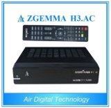 DVB-S2+ATSC Tuners Zgemma H3. Fernsehapparat-Empfänger Wechselstrom-Linux OS-Enigma2 Digital für Amerika/Mexiko