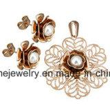 [شينم] مجوهرات [ستينلسّ ستيل] [غلد بلتينغ] يثبت مجوهرات حلم مع مدلّاة ([إرس7093])