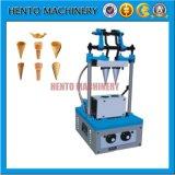 4 Kopf-Eiscreme-Kegel-Oblate-Kekserzeugung-Maschine