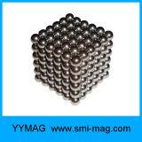 L'usine fournissent 5mm 216 billes nanoes d'aimant de cube en PCS