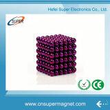 un neo magnete Buckyball delle 216 di 5mm sfere magnetiche di colore