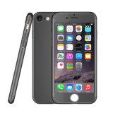 Caja dura delgada protectora con el vidrio Tempered, caja del teléfono celular de la PC de la cubierta completa de 360 grados del teléfono celular para el iPhone 7 del iPhone 6s/más