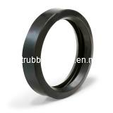 Gaxetas lisas personalizadas da borracha do anel da alta qualidade
