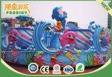 Giri moderni del parco di divertimenti dei capretti del cantante attraente dell'oceano