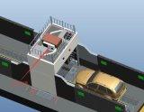 Machine de lecture de port de machine de rayon X pour des véhicules, fourgons, voitures de tourisme 300kv