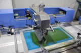 기계를 인쇄하는 레이블 리본 자동적인 스크린을 구르는 3개의 색깔 롤