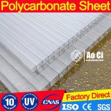 Holle Blad van het Polycarbonaat van PC het Transparante met UVBescherming