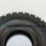 트롤리 바퀴 (3.50-4)에 Wear-Resistant 고무 바퀴 Uesd