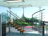 Novo projeto de escada em espiral