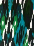 tissu 100% de robe de tissu Chiffon d'impression du polyester 30d beau