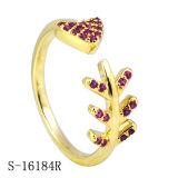 De Juwelen van de manier 925 Zilveren Ringen van de Dames van de Ringen van CZ Lichtgewicht Jonge