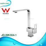 Un design moderne304-1 Jd-Wk porcelaine sanitaire Cuisine robinet mélangeur de lavabo en laiton