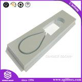 Rectángulo de empaquetado de papel impreso de la electrónica del receptor de cabeza del regalo de la cartulina