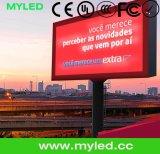 Visualizzazione di LED di pubblicità esterna di HD P10 /P8/P6