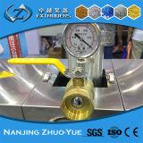 Máquina plástica recicl Sts da extrusora do produto do grânulo