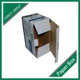 Rectángulo de papel de empaquetado impreso aduana