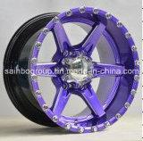 Randen van het Wiel van de Legering van de Auto van het Wiel F46001 van het Aluminium van Sainbo de Aantrekkelijke