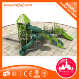 Оборудование скольжения напольной спортивной площадки малышей парка атракционов пластичное