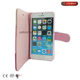 Caixa caso/iPhone7 de couro de emenda do telefone da cor