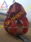 Electric Hydraulic Orange Peel Grapple Moteur Hydraulic Rock Grab