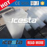 5-Ton/24hr. 冷却塔が付いている氷メーカーのブロックの製氷機械