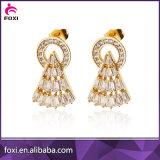 새로운 2016 최신 금 귀걸이는 두바이 금 보석 귀걸이를 디자인한다