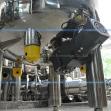 cuve de mélange à liquides pharmaceutiques en acier inoxydable avec agitateur magnétique du bas