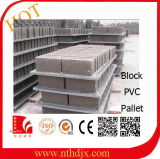 Palete de tijolos de alta qualidade /Bloquear Palete para bloquear a máquina