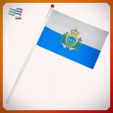 Флаг ручки высокого качества фабрики Гуанчжоу пластичный ручной (HYHF-AF053)