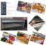 Forno elétrico da bandeja da plataforma 4 da alta qualidade 2 para a produção da pastelaria