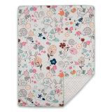 Micro coperta stampata del bambino del visone