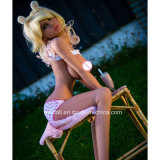 Bambola americana di forma fisica della pelle di Wmdoll 155cm Tan del negozio della bambola del sesso