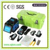 特許を取られた光ファイバスプライサ(Skycom T-108H)