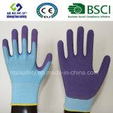 le caoutchouc spongieux 13G a enduit les gants de jardinage de sûreté de travail