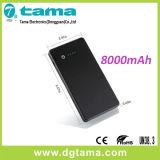 Batería de reserva de la potencia de batería del mejor teléfono elegante de la calidad 8000mAh