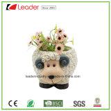 Ovejas resina maceta Figurita para el hogar y decoración de jardín