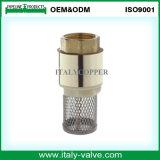 Qualitätsschmieden-Messingsprung-Rückschlagventil mit Messingstock (AV5011)